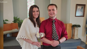 Couple live stream wedding on Facebook