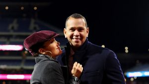A-Rod and J.Lo celebrate 1-year engagement anniversary