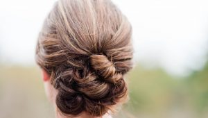 Chic updo bridal hairstyles