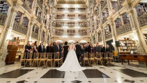 Stunning libraries where book-lovers can tie the knot