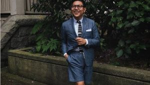 Shorts suits: For the summer groom