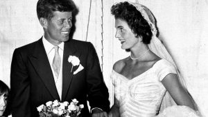 The untold story of Jackie O's wedding dress