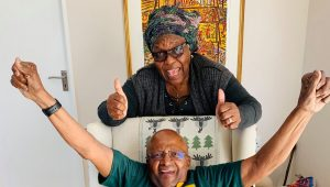 Archbishop Desmond and Leah Tutu celebrate 65 years of marriage