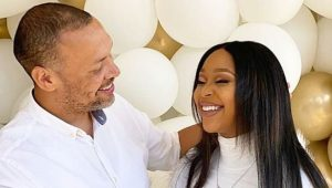 Minnie Dlamini and husband celebrate 3rd traditional anniversary