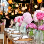 Decor ideas for intimate wedding tables