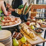 Let your wedding food determine the theme for your big day