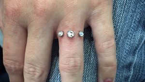 I've got you under my skin: Engagement ring piercings