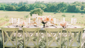 Spectacular spring-inspired wedding decor