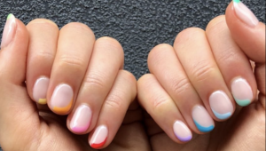 Get tippy with it: Trending nail art