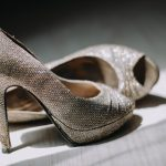Exquisite heels for the glamorous bride