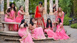 Colourful bridal parties to inject life into your big day