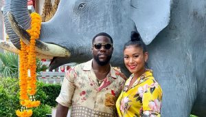 Kevin and Eniko Hart celebrate four-year wedding anniversary