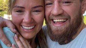 UFC star Conor McGregor proposes to long-time girlfriend