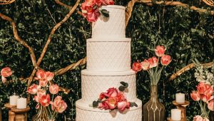 Wedding cakes that are basically works of art