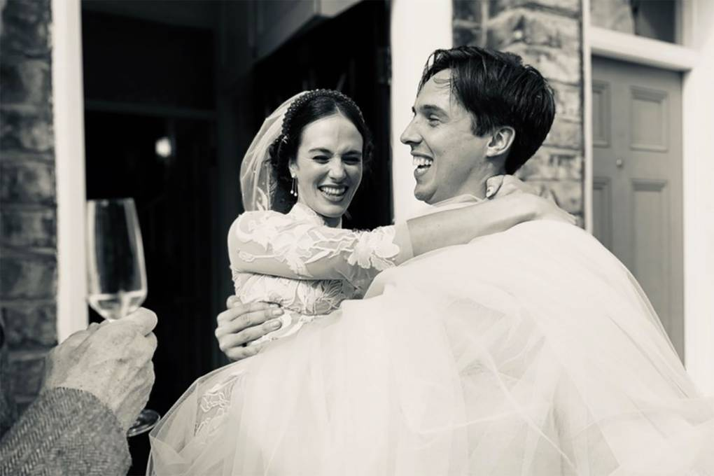 Downton Abbey star Jessica Brown Findlay ties the knot