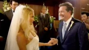 Piers Morgan claims he is 'technically married' to Paris Hilton