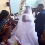 Wedding crashed by groom's real wife and kids