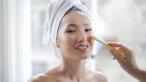 How to cover up acne on your big day