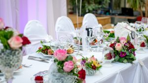 Do you need a head table at your wedding reception?