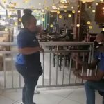 Waiters get engaged while serving at Vaal Spur