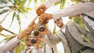 Two men may have legally married to party with 100 people