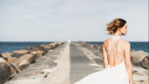 Sexy wedding dresses for the daring bride