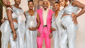Man arrives at wedding with six pregnant women in his arms