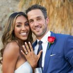 The Bachelorette's Tayshia Adams gives out her final rose