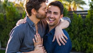 Mean Girls star Jonathan Bennett is engaged to Jaymes Vaughan