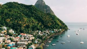 Saint Lucia named the world's leading honeymoon destination