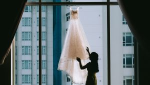 Bride tries to sell 'haunted' vintage wedding dress