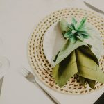 Go green with your wedding decor for a lucky day
