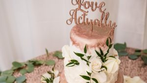 Pretty in pink wedding cakes