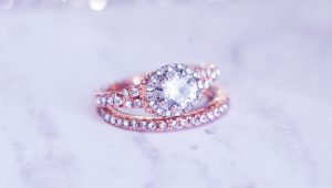 Go for (rose) gold engagement rings