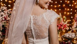 Wedding dresses as cute as a button
