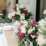 Blooming rose decor for a romantic day