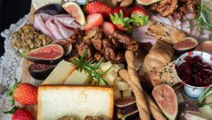 Delicious grazing tables you'll want to tuck into