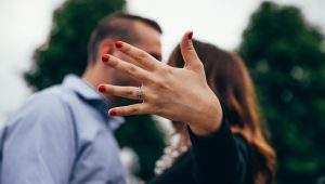Engaged couple discover they were born right next to each other