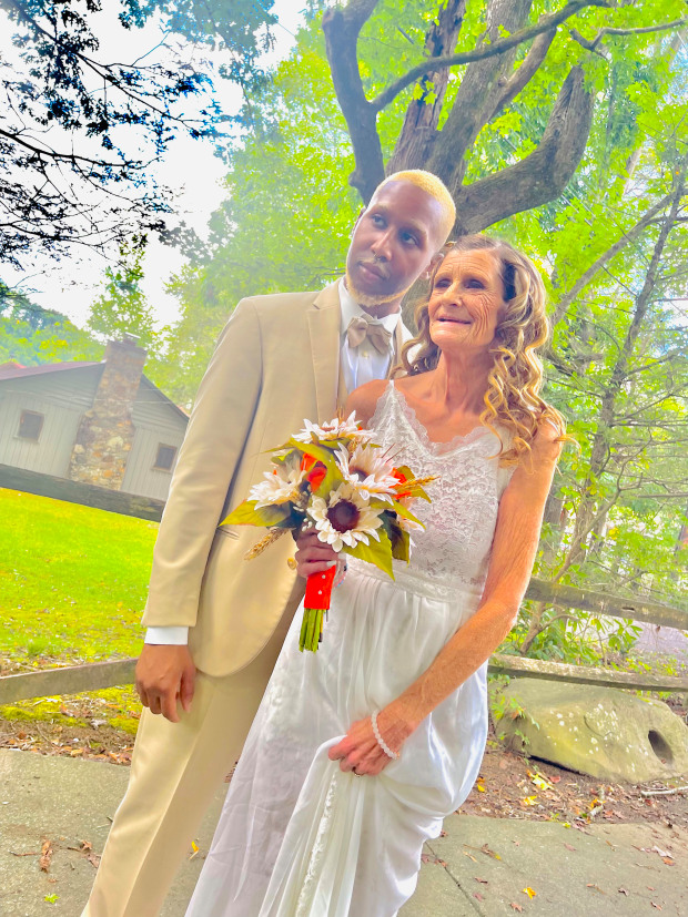 Grandmother marries the love of her life